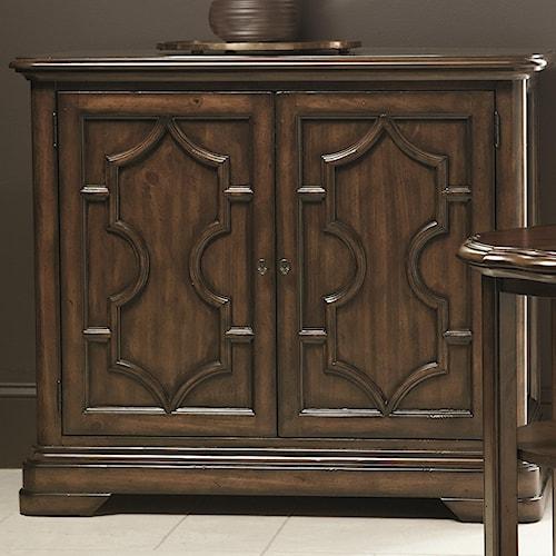 Bernhardt Montebella Door Chest with 2 Shelves
