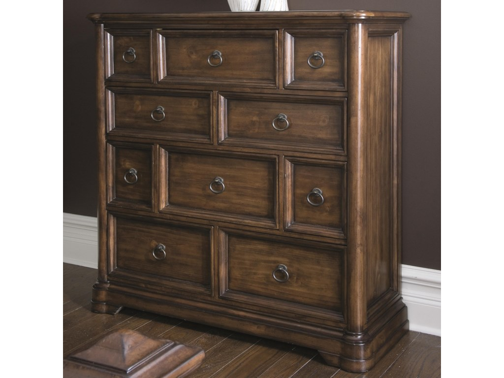 Amish Red Cedar Log Chest Of Drawers From Dutchcrafters