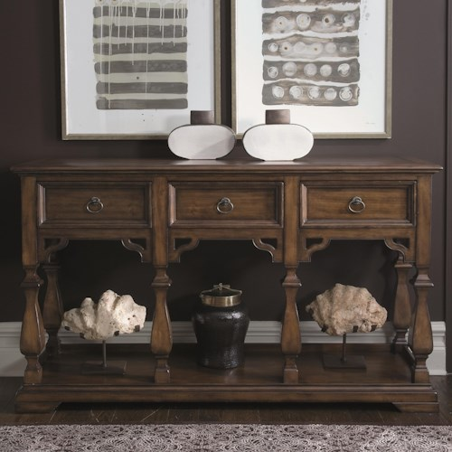 Bernhardt Montebella Sideboard with 3 Drawers