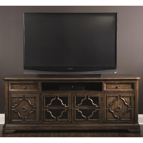 Bernhardt Montebella Entertainment Console with 4 Doors