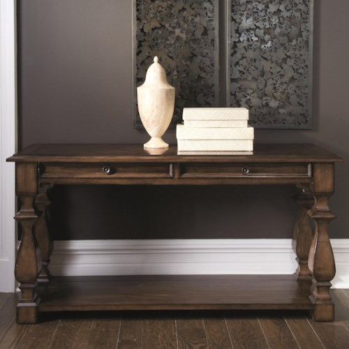 Bernhardt Montebella 2 Drawer Console Table