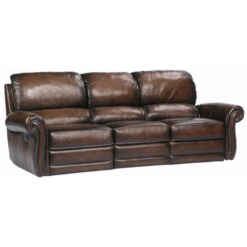 Bernhardt Reese Traditional Motion Sofa with Nail Trim