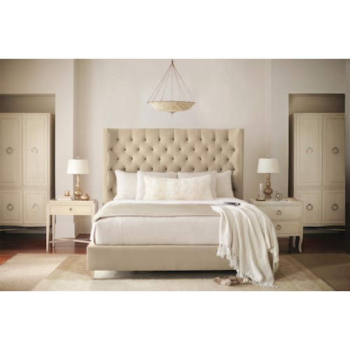 Bernhardt Siberia Queen Bedroom Group