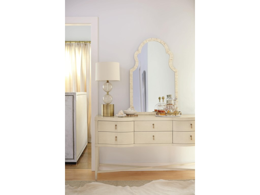 Shown with Arched Mirror