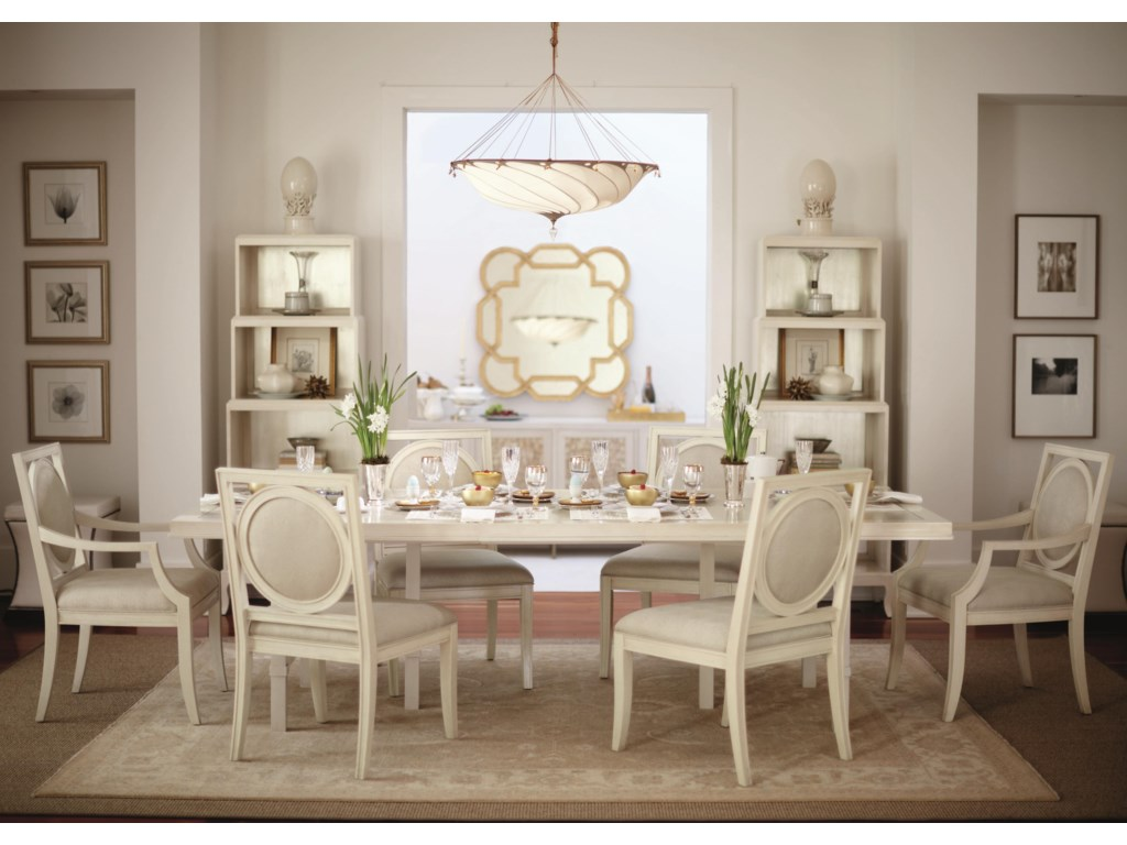 Shown with Buffet, Shaped Mirror, and Etagere