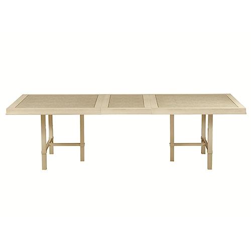 Bernhardt Salon Rectangular Dining Table with Shagreen Pattern