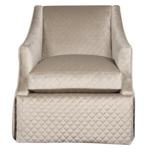 Bernhardt Clayton Swivel Chair