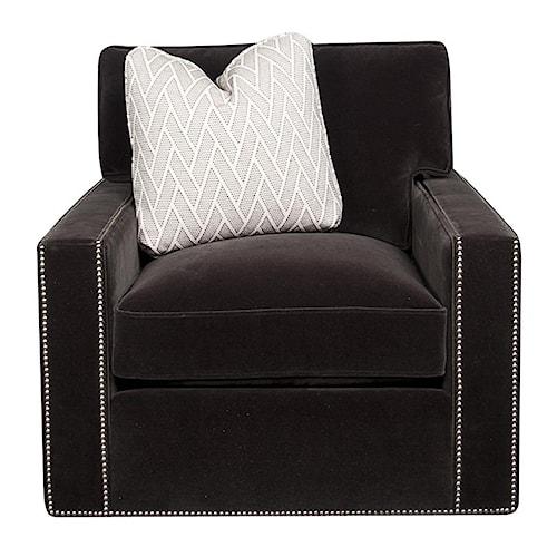Bernhardt Signature Swivel Chair