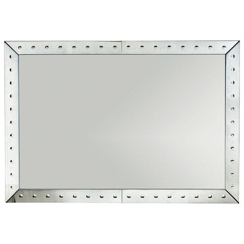 Bernhardt Sutton House Mirror with Antiqued Mirror Frame