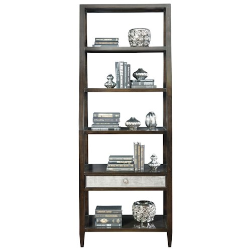 Bernhardt Sutton House Bookcase with 5 Shelves