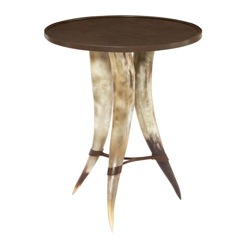 Bernhardt Texas Horn Table