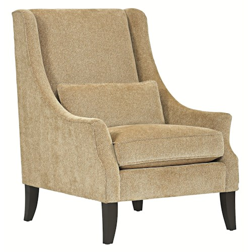 Bernhardt Upholstered Accents Fulton Contemporary Chair with Modern Appeal and a Sophisticated Style