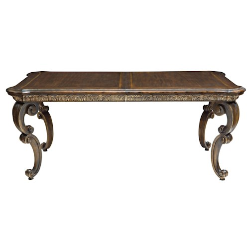 Bernhardt Villa Medici Dining Table with Scrolled Legs