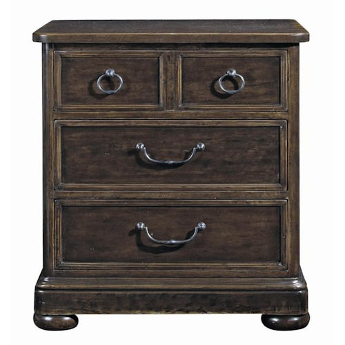 Bernhardt Villa Rica 3-Drawer Nightstand