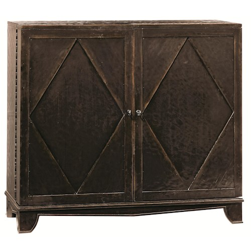 Bernhardt Villa Rica Bar Cabinet with Wine Bottle Storage