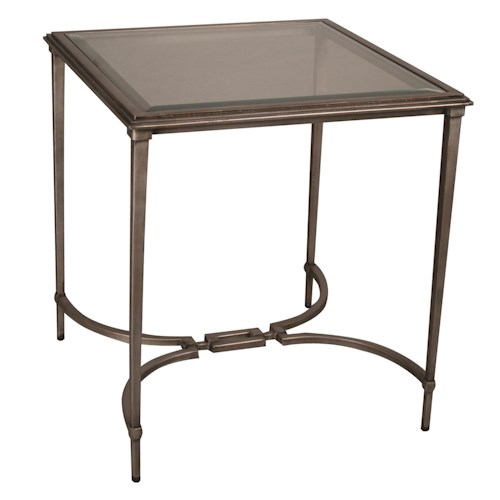 Bernhardt Vista Court Square End Table