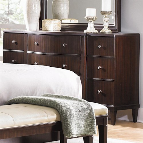 Bernhardt Westwood Contemporary Nine Drawer Dresser