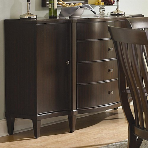 Bernhardt Westwood Buffet With Two Doors and Four Drawers