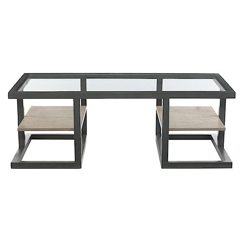 Bernhardt Wheeler Cocktail Table