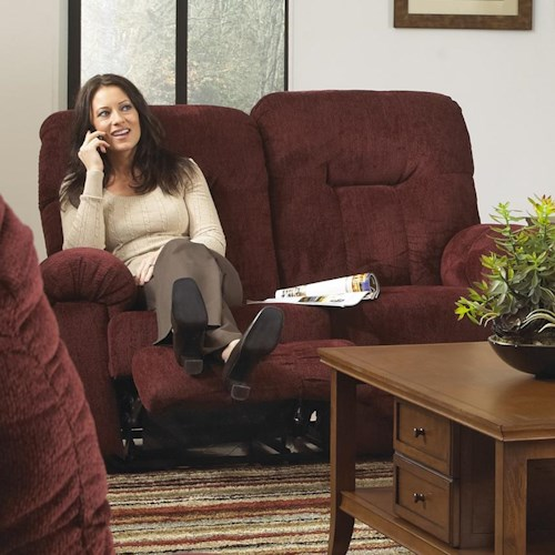 Morris Home Furnishings Ares Reclining Loveseat