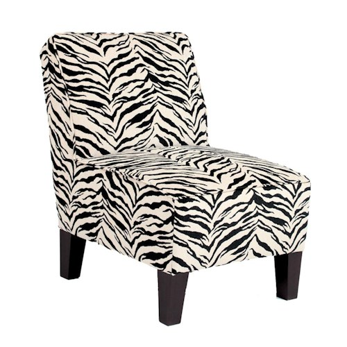 Vendor 411 Chairs - Accent Keara Exposed Wood Armless Accent Chair