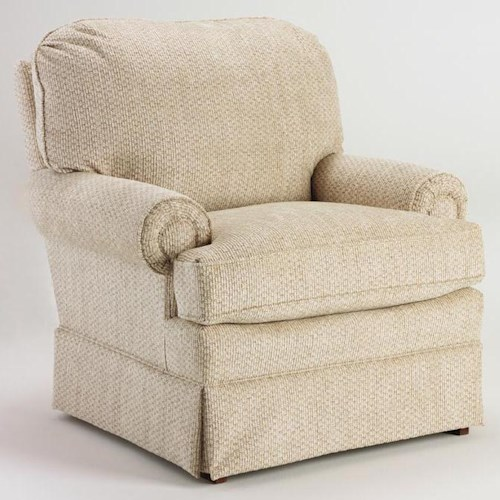 Morris Home Furnishings Chairs - Accent Upholstered Club Arm Chair