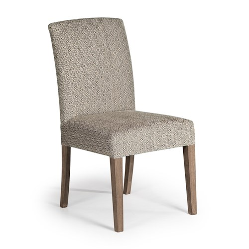 Best Home Furnishings Chairs - Dining Myer Upholstered Dining Chair