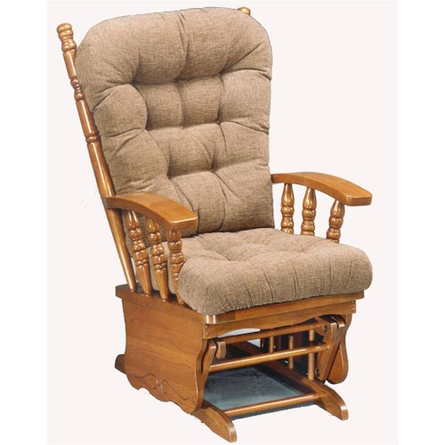 Morris Home Furnishings Glider Rockers Henley Glider Rocker