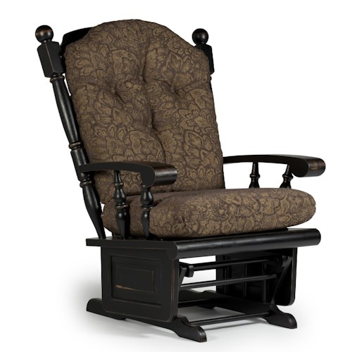 Best Home Furnishings Glider Rockers Delling Glider Rocker with Lockable Mechanism