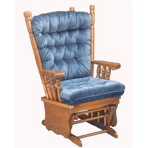 Best Home Furnishings Glider Rockers Giselle Glider Rocker