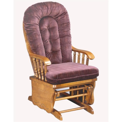 Morris Home Furnishings Glider Rockers Sunday Glide Locking Glide Rocker