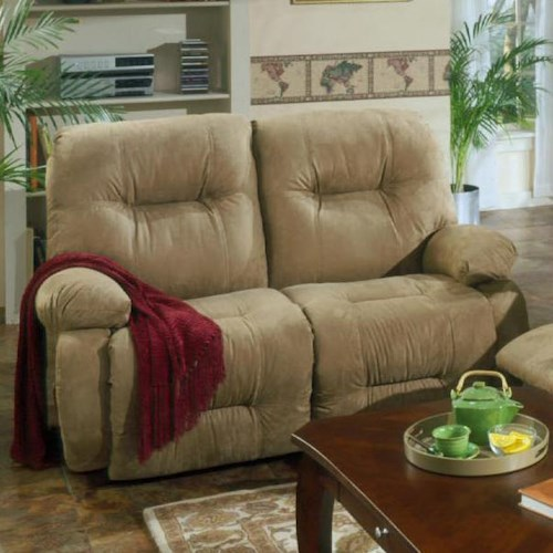 Best Home Furnishings Brinley 2 Brinley Space Saver Reclining Loveseat