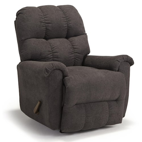 Morris Home Furnishings Camryn BHF Casual Plush Rocker Recliner