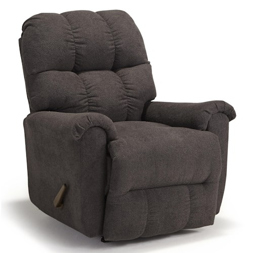 Morris Home Furnishings Camryn BHF Casual Plush Swivel Rocker Recliner