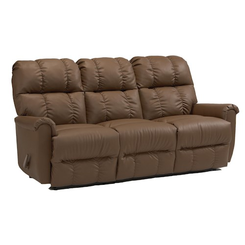Morris Home Furnishings Camryn BHF Casual Plush Power  Reclining Sofa
