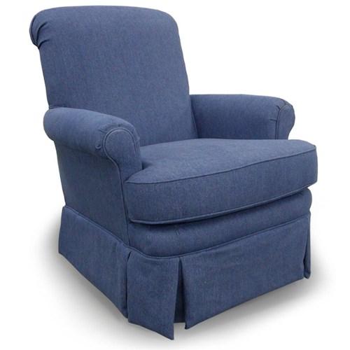 Morris Home Furnishings Chairs - Swivel Glide Nava Glide Chair