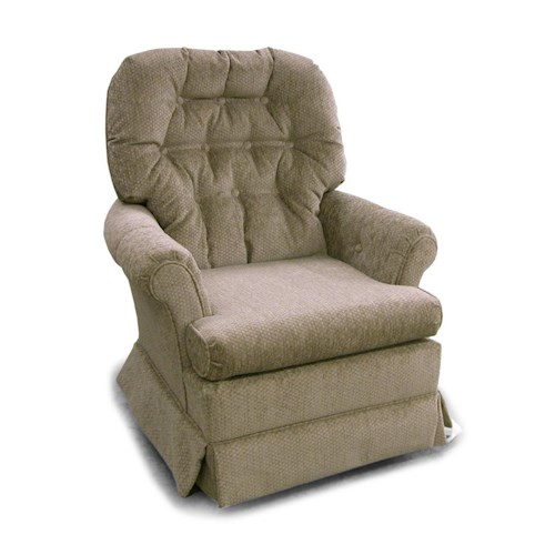 Best Home Furnishings Chairs - Swivel Glide Marla Swivel Rocker Chair