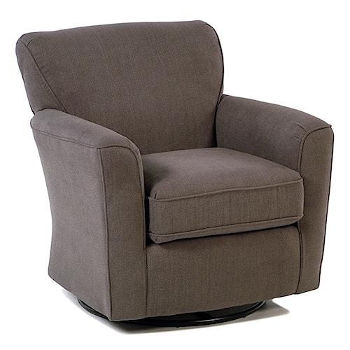 Best Home Furnishings Chairs - Swivel Glide Swivel Barrel Arm Chair