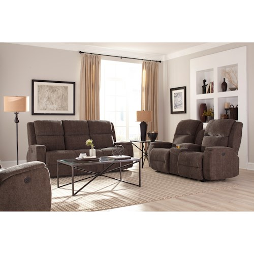 Best Home Furnishings Colton Reclining Living Room Group