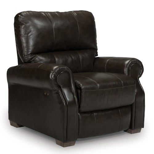 Vendor 411 Damien Transitional Power High Leg Recliner