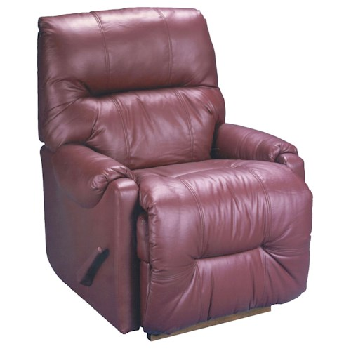 Best Home Furnishings Dewey 9AW14 Casual Swivel Glider Recliner