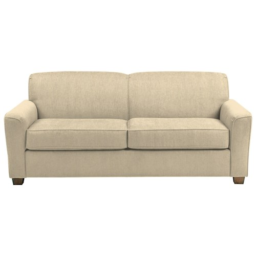 Morris Home Furnishings Dinah Contemporary Queen Sofa Sleeper