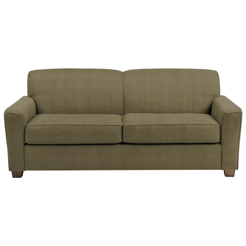 Best Home Furnishings Dinah Contemporary Queen Sofa Sleeper