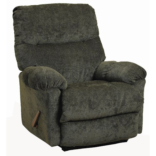 Morris Home Furnishings Ellisport Ellisport Rocker Recliner with Exterior Handle