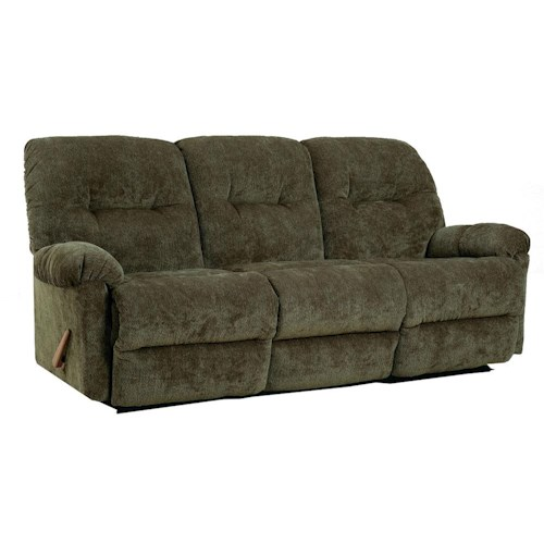 Morris Home Furnishings Ellisport Reclining Sofa with Rolled Arms