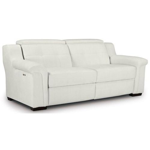 Best Home Furnishings Everette Power Reclining Sofa with Adjustable Headrest