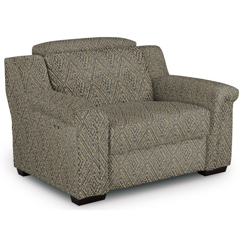 Best Home Furnishings Everette Oversized Power High Leg Recliner with Adjustable Headrest
