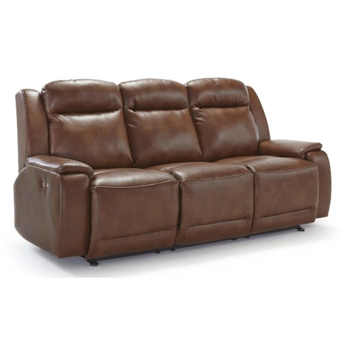 Vendor 411 Hardisty Casual Power Reclining Sofa with Memory Foam Cushions