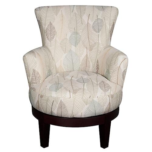 Morris Home Furnishings Jayda Swivel Chair