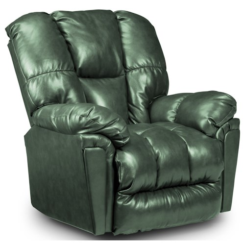 Best Home Furnishings Lucas Casual Power Rocker Recliner with Full-Coverage Chaise Legrest